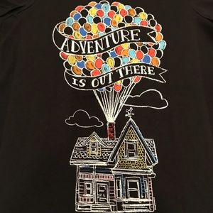 """*3/$30** Disney Up! """"Adventure is Out There"""" Tee"""